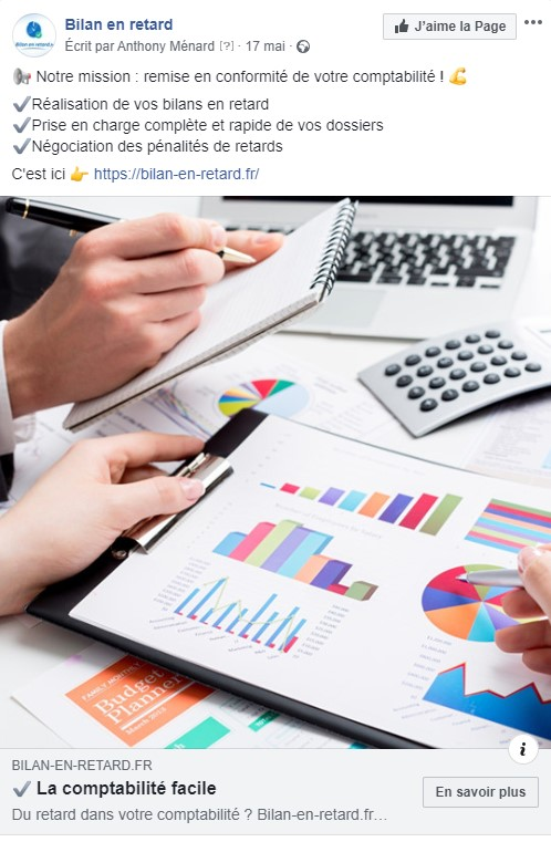 generation lead campagne facebook SEA bilan